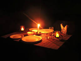 Candle Light Dinner Candle Light Dinner At Open Roof Top At Hotel Picture Of