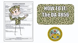 Counseling Form 4856 Fillable The Da Form 4856 Developmental Counseling Form Guidelines