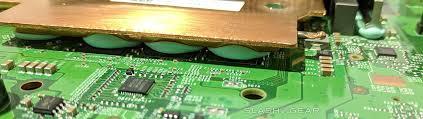 vapor chamber gpu cpu heat sink set xbox one x teardown and unboxing slashgear