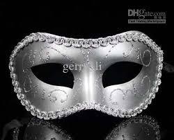 silver masquerade masks for women streak venetian half faces mask mardi gras masquerade