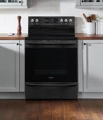 sample kitchen design with black appliances enchanting home design