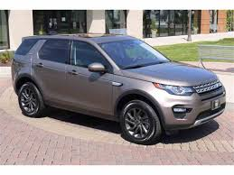 land rover discovery sport 2017 2017 land rover discovery sport for sale classiccars com cc 982337