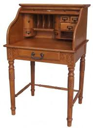 Antique Small Desk Small Roll Top Desk For A Tiny Space For The Home Pinterest