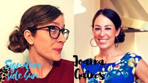 joanna gaines no makeup kaylabethmakeup joanna gaines signature side bun youtube