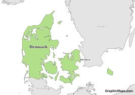 denmark graphicmaps com