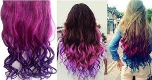 purple hair extensions highly pink to purple hair extension only 4 28