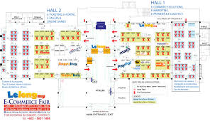 Event Floor Plans by Check Out The Updated Floor Plan E Commerce Fair 2011