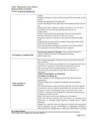 Resume For Hr Manager Position Hr Or Admin Manager Resume