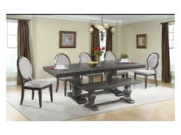 Dining Bench Table Set Elements International Morrison Table Set With Dining Bench John