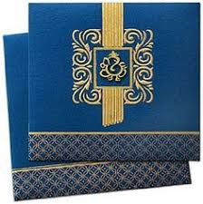 wedding cards india online exclusive invitation card made with brilliant gold foil work and