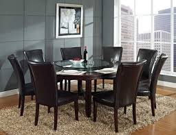 8 Chair Dining Table Set Dining Room Round Dining Table 8 Chairs On Dining Room With Round