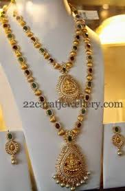 bead design jewelry necklace images Gold necklace designs with beads la necklace jpg