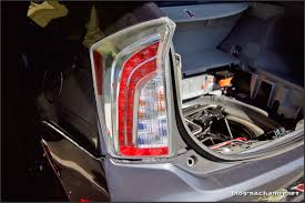 Tail Light Out Diy How To Change The Tail Lights On A 3rd Gen Prius Valenti Led