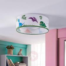 plafonnier chambre dinoland plafonnier chambre d enfant tissu led luminaire fr