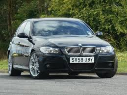 used bmw 3 series uk used bmw 3 series 2008 model 330d m sport diesel saloon black for