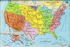 Map Of The States Of Usa by Usa