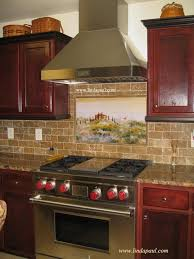 kitchen mural backsplash kitchen backsplash murals mosaic medallions and accent tiles