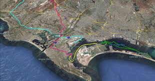 Traffic Map San Diego by 6 Best San Diego Road Bike Trails Element Cycles