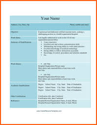 10 cna resume template microsoft word budget template letter