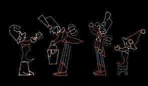 fantasy of lights vasona lake county park