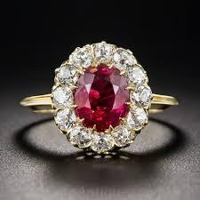 natural ruby rings images 1 68 carat natural burma ruby and diamond ring jpg