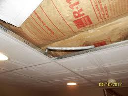 basement ceiling insulation internachi inspection forum