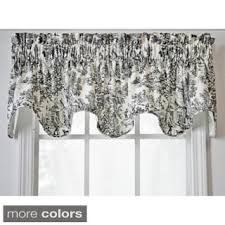 Curtains Valances Styles Valances Shop The Best Deals For Nov 2017 Overstock Com