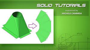 solidworks sheet metal hopper tramoggia modellazione solida