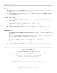 Construction Manager Resume Examples by Profile On A Resume Example Business Representative Sample Resume