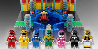 Lego Office Sets Based On Power Rangers The Office And Tron Reach Lego Ideas