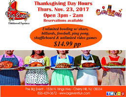 thanksgiving day the big event