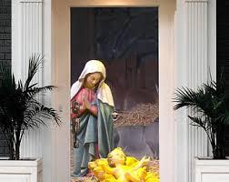 Christmas Outdoor Decorations Nativity Scene by Outdoor Nativity Etsy