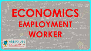 505 class xi cbse icse ncert economics employment worker