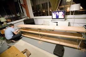Long Low Bookcase Wood Ali U0027s Diy Shelving Hatch The Design Public Blog