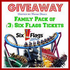 Coupons For Six Flags Six Flags 3 Tickets Giveaway My Life Is A Journey Not A