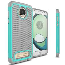 Moto Shade Replacement Canopy by Coveron Motorola Moto Z2 Play Case Hexaguard Series Hard Phone