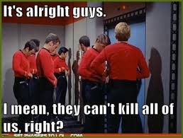 Red Shirt Star Trek Meme - 23 funny star trek memes candifloss eelan m