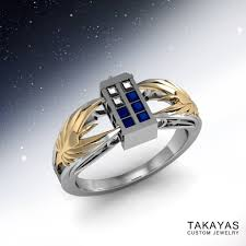 doctor who wedding ring takayas custom jewelry is geeky jewelry dreams come true