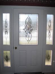 Front Door Glass Designs Stained Glass Front Entry Door With Side Panels Linda U0027s Front