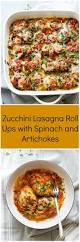 ups work on thanksgiving zucchini lasagna roll ups with spinach and artichokes little broken