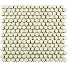Best 25 Penny Round Tiles by Merola Tile Hudson Penny Round Blue Eye 12 In X 12 5 8 In X 5 Mm