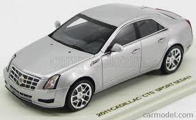 cadillac cts sport sedan luxury 100877 scale 1 43 cadillac cts sport sedan 4 door 2011 silver