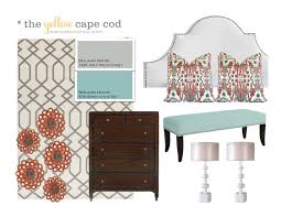 Cape Cod Bathroom Designs The Yellow Cape Cod Orange Turquoise And Gray Master Suite