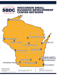 Wisconsin On The Map by Locations Wisconsinsbdc