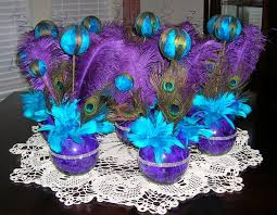 blue and purple wedding purple and blue wedding table decor 1341