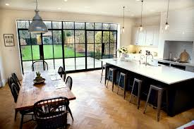 Kitchen And Table Keen To Extend Their House In Wandsworth South West London To