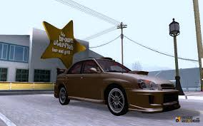 subaru drift car impreza wrx sti drift 2004 for gta san andreas
