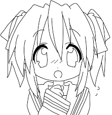 anime coloring pages for adults at eson me