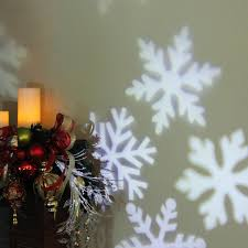 outdoor led snowflake christmas light projector with remote