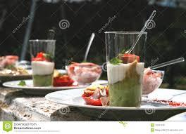 cuisine de a à z verrines verrines stock photo image of freshly gastronomy light 14241530